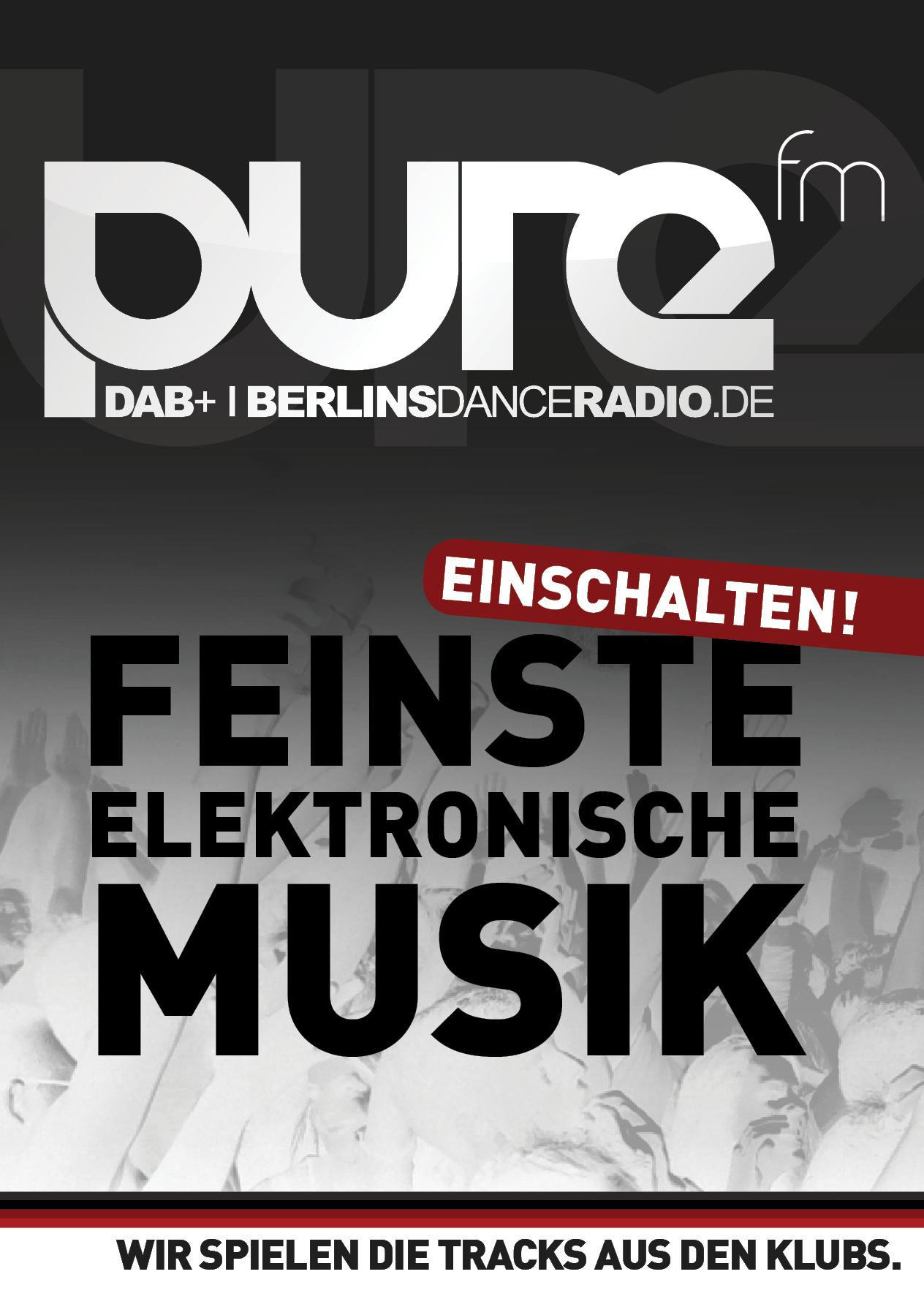 pure fm Flyer