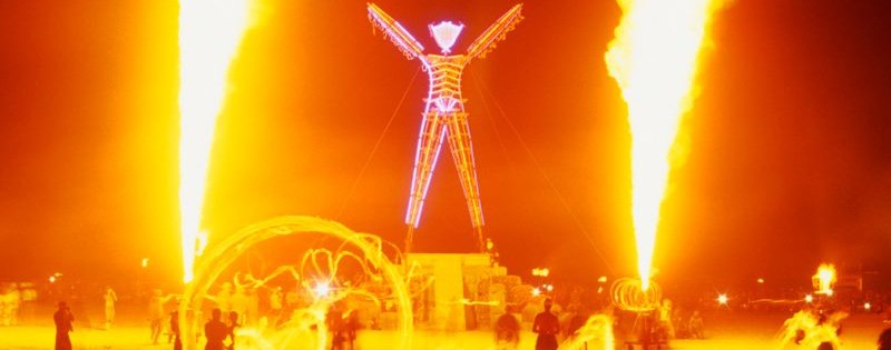 Burning Man, © 2012 Photo by George Post