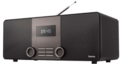 Das Digitalradio hama DIR 3010