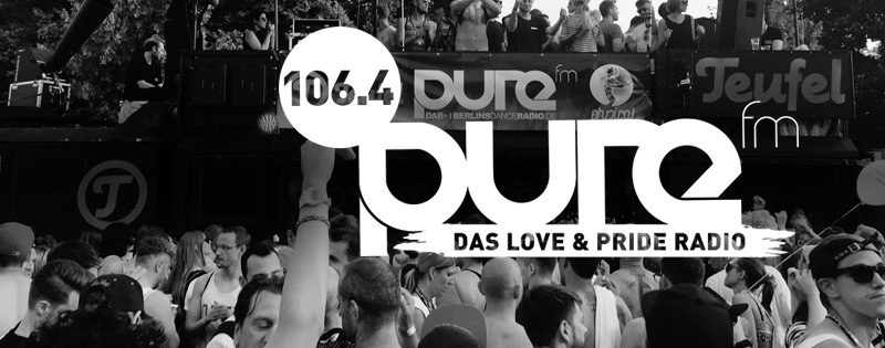 106.4 pure fm - das love & pride radio