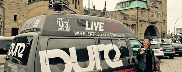 pure fm startet in Hamburg